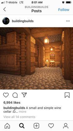 Minecraft Storage, Minecraft Farm, Easy Minecraft Houses, Minecraft Castle, Minecraft Plans, Minecraft House Designs, Minecraft Decorations, Minecraft Construction, Amazing Minecraft