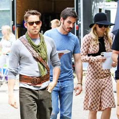 Once Upon a Time set photos - July 18, 2014.