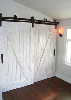 http://rusticahardware.com/bypass-barn-door-hardware-system/# - closet - salt lake city - by Rustica Hardware