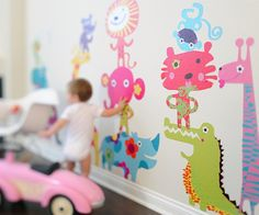 not these particular animals- but love that its baby height!   (its a pop & lolli decal)