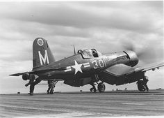 F4U - Corsair...just image what this beast with that 13' prop must have sounded like running up for take off!