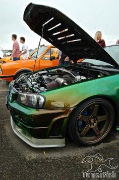 Green machine R34