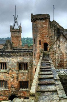 Linlithgow Palace, Scotland~ Birthplace of Mary Queen of Scots.