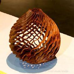 *Wood Sculpture by Dewey Garrett