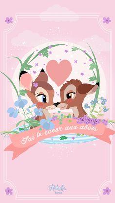 Bambi Disney Background Kawaii Wallpaper Cute Iphone