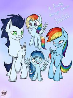 SoarinDash - A Happy Family by Hayley1432.deviantart.com on @deviantART