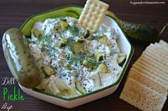 This dip is great as an appetizer or paired with salmon but it really shines slathered on a hamburger!!! Try it at your next BBQ!!!!!! You'll Need: Electric Mixer or Kitchen Aid Serving Dip Bowl   Print Dill Pickle Dip   Ingredients 8 ounces cream cheese, softened ½ cup mayonnaise ½ cup sour cream 4 …