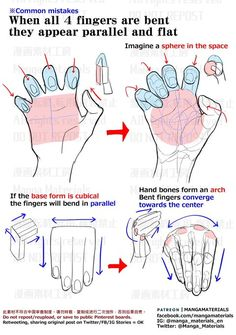 Hand Drawing Reference, Anatomy Reference, Art Reference Poses, Art Poses, Drawing Poses, Drawing Tips, Drawing Tutorials, Art Tutorials, Digital Painting Tutorials