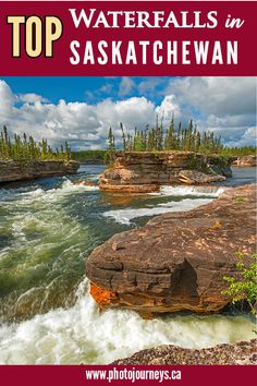 Did you know that Saskatchewan boasts many major waterfalls along northern rivers in pristine boreal forest wilderness? Here's 13 of our favourites. Places To Travel, Places To See, Canadian Travel, Visit Canada, Colorado Hiking, North Cascades, Beautiful Waterfalls, Adventure Awaits, Natural Wonders
