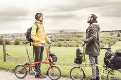 @jors_truly and @christiangoran are making their way through South England on their trip to Amsterdam. Showcasing a bike is still a feasible form of transport in this modern age! #londontoamsterdam #kingsday #Brompton #mybrompton