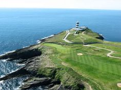 If you believe yourself to be a bit of a Rory McIlroy waiting to emerge or just like the fresh air then why not head to one of the many beautiful golf courses throughout the country like this one : The Old Head Golf Links in Kinsale, Co.Cork www.visitcorkcounty.com