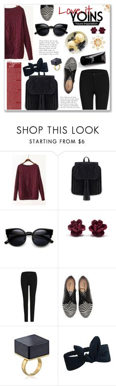 """""""Yoins"""" by hanicelma ❤ liked on Polyvore featuring women's clothing, women's fashion, women, female, woman, misses, juniors, yoins, yoinscollection and loveyoins"""