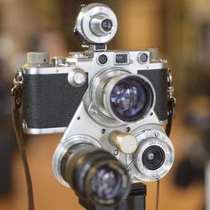 Check Out This Ultra-Rare Leica Three-Lens 'Turret'