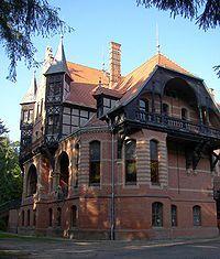 The Jagdschloss Gelbensande (Gelbensande Hunting Castle) was erected between 1880 and 1885 as a summer residence for Grand Duke Friedrich Franz III of Mecklenburg-Schwerin.