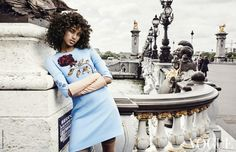 fashion editorials, shows, campaigns & more!: the sweetest touch: imaan hammam by marc de groot for vogue netherlands september 2015 Fashion Photo, Fashion Models, Dna Model, Domenico Dolce & Stefano Gabbana, Vogue Magazine, Black Models, Beauty Photography, Editorial Fashion, September