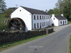 Wellbrook Beetling Mill outside Cookstown in County Tyrone, Northern Ireland. National Trust Property.