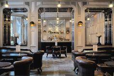 Classic #restaurant + #bar designed by David Collins