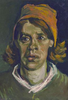 van Gogh - Head of a woman [1884-85] (very expressionistic !)