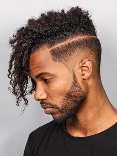16 Must-Try Hairstyles For Black Men - Hairstyles & Haircuts for Men & Women Black Haircut Styles, Black Men Haircuts, Black Men Hairstyles, Men's Haircuts, Hipster Hairstyles, Curly Hair Men, Curly Hair Styles, Natural Hair Styles, Thick Hair