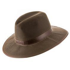 260d9d05eea3 Seattle Oil Cloth Safari Outback Water Repellant Outdoors Hat with Chin  Cord DARK BROWN 7 58 *** Be sure to check out this awesome product.