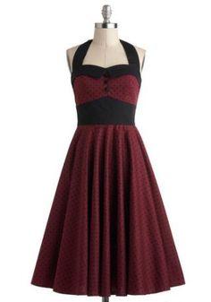 Cute Budding Starlet Dress in Dots :: Cute Dresses 4U :: Dress Store