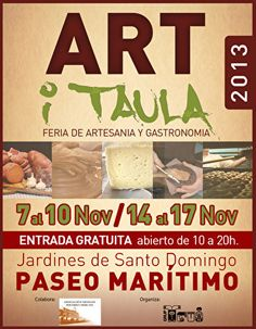 Art i Taula - Artesanía y la Feria de la Alimentación  http://www.inmonova.com/blog/art-i-taula-craft-and-food-fair/