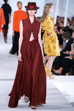 Hermès Spring 2006 Ready-to-Wear Fashion Show - Gemma Ward