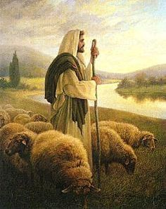 "Good Shepherd (by Greg Olsen) ""I am the Good Shepherd..."" John 10:11"
