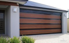 All work performed to your garage door is covered by a guarantee service from Speedway Garage Door Repair in Indiana. Get latest offers with most efficient repair service. We try to complete garage door repair in one trip with our equipped mobile van. Contemporary Garage Doors, Modern Garage Doors, Wood Garage Doors, Garage Gate, Modern Contemporary, Wooden Doors, Modern Design, Glass Garage Door, Garage Door Design