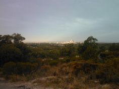 Perth CBD from Rebold Hill Perth WA
