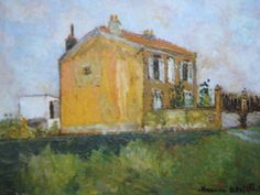 maurice utrillo Jackson Pollock, Maurice Utrillo, Museum Architecture, Paris, Museums, Art Pictures, Les Oeuvres, Art Ideas, Buildings