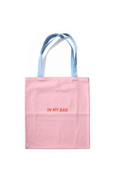 In My Bag Tote Bag - By BKBT Concept Cotton Bag 7cfd7932f6f