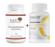 Serrapeptáza IU 90 tabliet + Vitamín C 1000 mg 90 tabliet Catering, Catering Business, Gastronomia