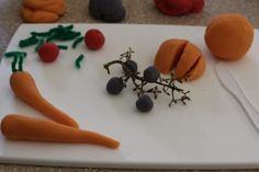 Little Moments: Produce Play Dough