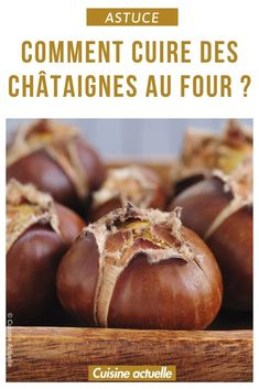 Comment cuire des châtaignes au four ? How to bake chestnuts in the oven, baking chestnut electric o Chestnut Recipes, Polenta Fries, Confort Food, Cookery Books, Four Grill, Healthy Snacks For Kids, Cooking Time, Food Inspiration, Oven