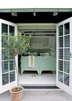 Sommerhus / hytte / interiør