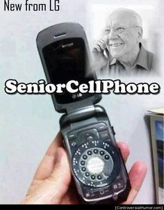 Over the Hill, Getting Old, Senior Citizen Humor - Old age jokes cartoons and funny photos Senior Citizen Humor, Senior Humor, Phone Jokes, Cell Phones For Seniors, Funny Quotes, Funny Memes, Hilarious Jokes, Nice Quotes, Badass Quotes