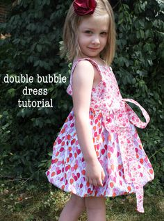 Double Bubble Dress sewing tutorial
