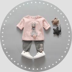 Детская одежда девушка осень одежда набор на 2016 год новые 1-2-3-и 4-летний женский детская одежда детей весной и осенью два кусок набор