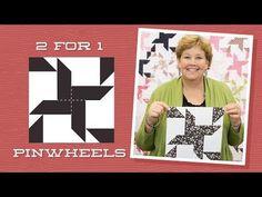 Make an Easy 2 for 1 Pinwheel Stars Quilt!