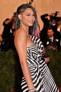 Chic Celeb Side-Part Hairstyles  #hairstyles  #sideparthair #chaneliman