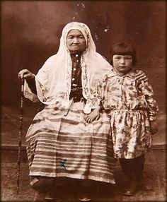 Tatars. Crimea Tatars. Жительницы Кезлева. нач. ХХ века.