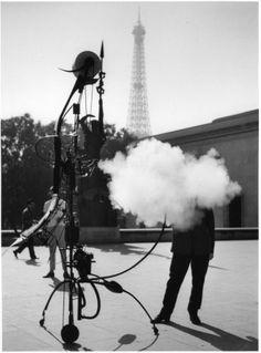Robert Doisneau. Tinguely - portrait de l'artiste 1959