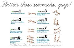 Flatten those stomachs guys - Fitness Workout Butt Sixpack Legs - PROJECT NEXT - Bodybuilding & Fitness Motivation + Inspiration 7 Workout, Basic Workout, Plank Workout, Tummy Workout, Workout Exercises, Motivation Inspiration, Fitness Inspiration, Workout For Flat Stomach, Flat Abs