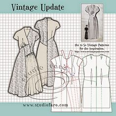 well-suited: Pattern Puzzle - Vintage Update