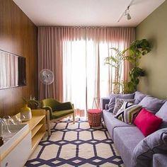 Quem viu o último #decoranognt do @canalgnt com o @mauricioarruda ?? A sala ficou linda demais, fiquei apaixonada pelos tons, mas o que mais me encantou foi o sofá da @liderinteriores  Gente, que coisa mais linda, né?! #ahlaemcasa