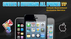 Sweden 3 Hutchison iPhone Unlock Permanent Official Factory Guaranteed
