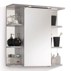 http://www.home24.nl/aqua-suite/spiegelkast-hamilton-inclusief-verlichting-zilver-1