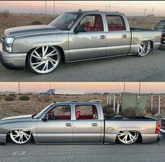 Custom Chevy Trucks, Dodge Trucks, 4 Door Trucks, Silverado Crew Cab, Single Cab Trucks, Charger Srt Hellcat, Lowered Trucks, Automobile, Cars