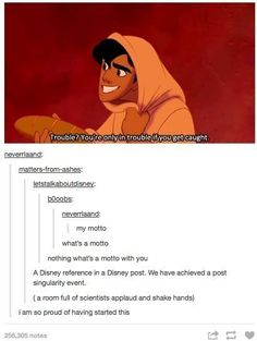 When you can clearly identify who the true Disney fans are.